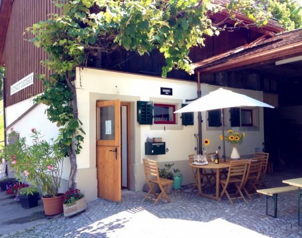 Weingut Diederik Hofladen Degustationsraum