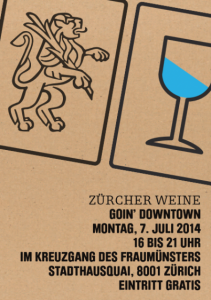 Zürcher Weine goin' downtown 2014