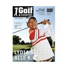 Cover Golf & Country Oktober 2015