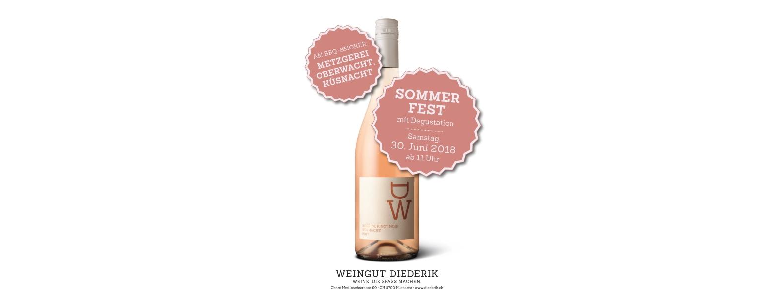 Sommerfest 30. Juni 2018 Weingut Diederik