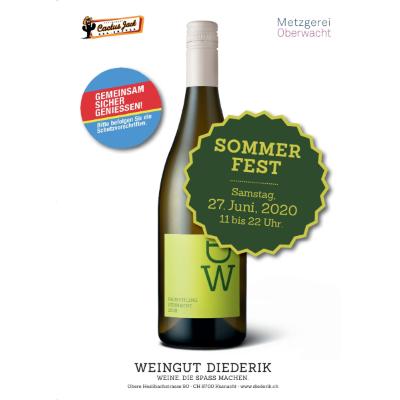 Sommerfest 2020 Weingut Diederik