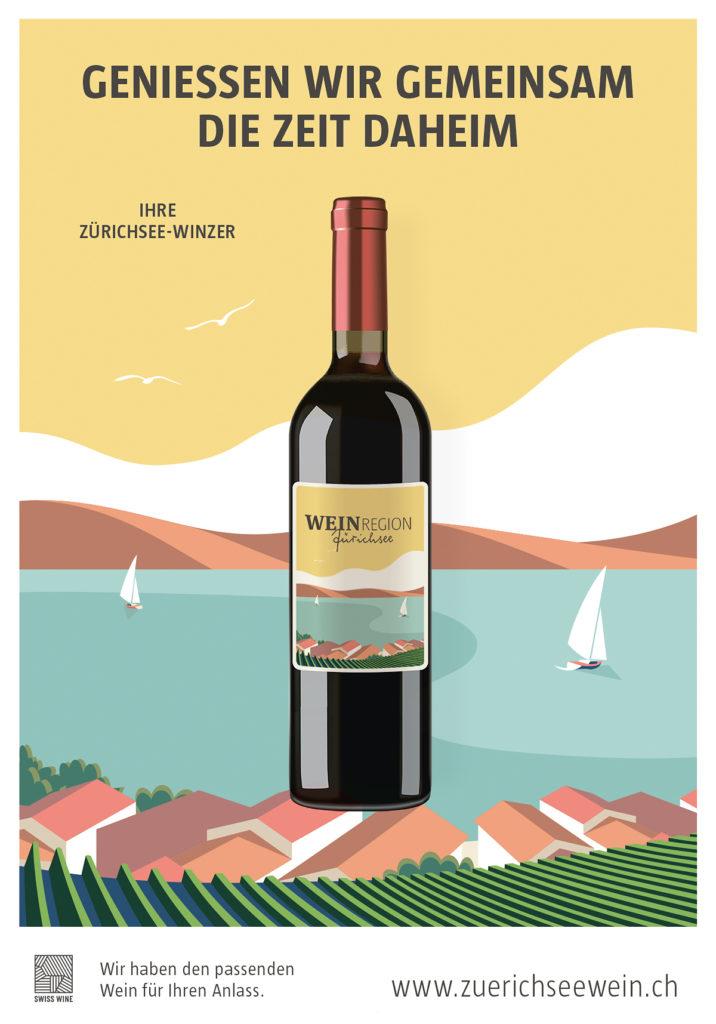 Geniessen wir gemeinsam die Zeit daheim Weinbauverein am Zürichsee
