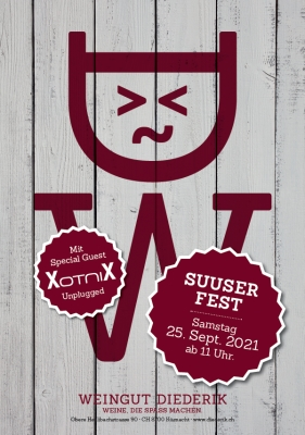 Suuser Fest 2021 Weingut Diederik Zürichsee